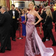 Charlize Theron At Oscars Wallpaper Wallpapers