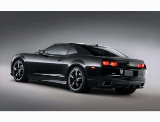 Chevrolet Camaro Black Concept 4 Hd Wallpapers