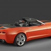 Chevrolet Camaro Convertible Concept 2 Hd Wallpapers