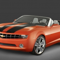 Chevrolet Camaro Convertible Concept 3 Hd Wallpapers