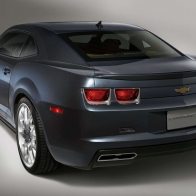 Chevrolet Camaro Dusk Rear Hd Wallpapers