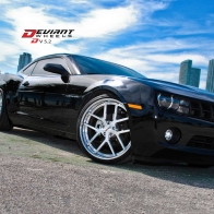 Chevrolet Camaro On Deviant Wheels Hd Wallpapers