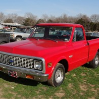 Chevy Truck At The Little Valley Auto Ranch Belton Texas Wallpaper