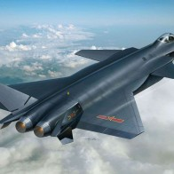 Chinese Fighter Plane Air Force