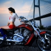 Download cirls and motorcycles, cirls and motorcycles  Wallpaper download for Desktop, PC, Laptop. cirls and motorcycles HD Wallpapers, High Definition Quality Wallpapers of cirls and motorcycles.