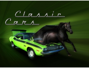 Classic Muscle Car Wallpaper