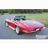 Classic Red Corvette Covertible Wallpaper