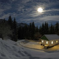 Cold Moon House Wallpapers