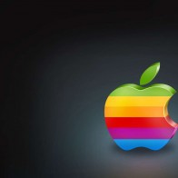 Colorful Apple Logo Wallpapers