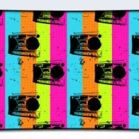Colorful Boombox Cover