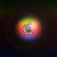 Colorful Glow In Apple Wallpapers