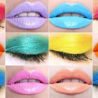 Colorful Makeup Cover
