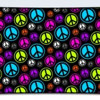 Colorful Peace Signs Cover