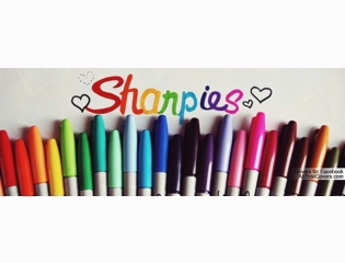 Colorful Sharpies Cover