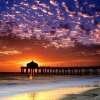 colorful sky manhattan beach,nature landscape Wallpapers, nature landscape Wallpaper for Desktop, PC, Laptop. nature landscape Wallpapers HD Wallpapers, High Definition Quality Wallpapers of nature landscape Wallpapers.