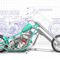 Concept Chopper Wallpaper