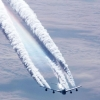 Download condensation trails aircraft, condensation trails aircraft  Wallpaper download for Desktop, PC, Laptop. condensation trails aircraft HD Wallpapers, High Definition Quality Wallpapers of condensation trails aircraft.