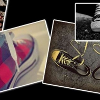 Converse Collage Cover