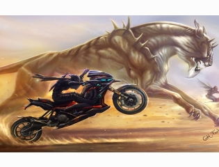 Cool Motorcycle Desktop Wallpaper