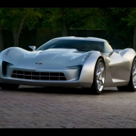 Corvette Stingray Sideswipe Concept Wallpaper