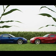 Corvette Vs Viper Wallpaper