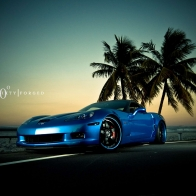 Corvette Z06 Jetstream Blue 2 Hd Wallpapers