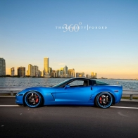 Corvette Z06 Jetstream Blue Hd Wallpapers