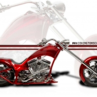 Covington Chopper Wallpaper