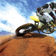 Crazy Motocross Bike Wallpapers