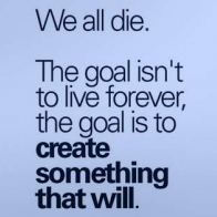 Create Something That Will Live Forever Cover