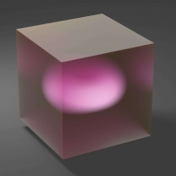 Cube Glass Ball