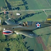 Curtiss P 40 Warhawk Wallpaper