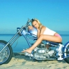 Download custom chopper with beautiful babe wallpaper, custom chopper with beautiful babe wallpaper  Wallpaper download for Desktop, PC, Laptop. custom chopper with beautiful babe wallpaper HD Wallpapers, High Definition Quality Wallpapers of custom chopper with beautiful babe wallpaper.