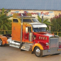 Custom Painted Kenworth