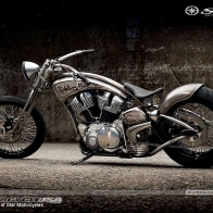Custom Star Motorcycle