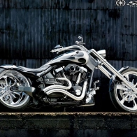 Custom Star Street Chopper Wallpaper