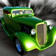 Custom Street Rod Wallpaper