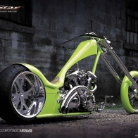 Custom Yamaha Road Star Chopper Wallpaper