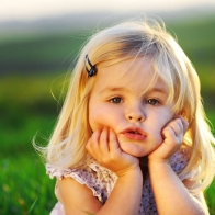 Cute Baby Girl Hd Background