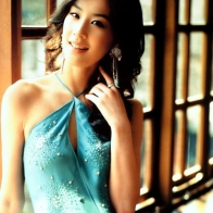 Cute Chinese Actress Eva Huang 4 Wallpaper