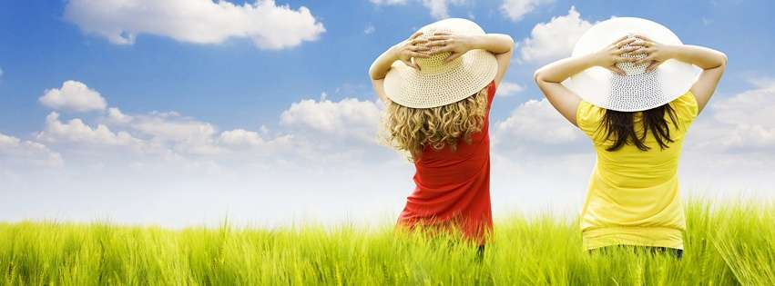 cute girls facebook timeline cover hd wallpapers