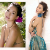 Cute Hong Kong Actress Kathy Chow 4 Wallpaper