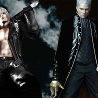 Dante And Vergil Game Wallpaper