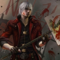Dante Devil May Cry Game Wallpaper