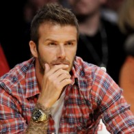 David Beckham At Nba Wallpaper