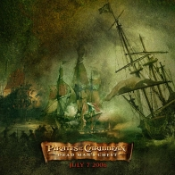 Dead Man's Chest Pirates Of The Caribbean Wallpaper