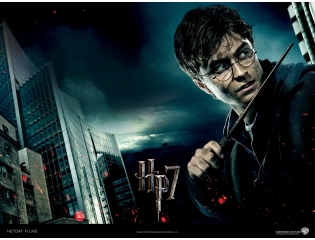 Deathly Hallows New Poster Wallpaper