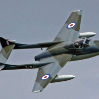 Dehavilland Vampire Wallpaper
