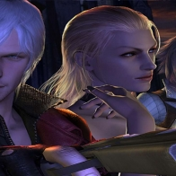 Devil May Cry 4 Dante And Babes Wallpaper