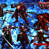 Devil May Cry 4 Dante Unleashed Wallpaper